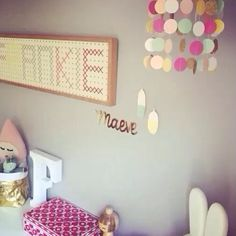 Little Letter Lights Co (instagram) Marquee style battery operated letter lights #LLLC