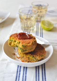 CHICKPEA AND SPINACH TIKKI / PATTIES