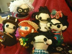Labores en Red: 1725.- Amigurumi dolls