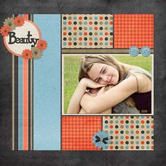 Use with Lil' Darlings' scraps = cap_Scraportunity_FoxyBoxy Scrapbook Patterns, Scrapbook Layout Sketches, Kids Scrapbook, Scrapbook Designs, Scrapbook Paper Crafts, Scrapbooking Layouts, Scrapbook Cards, Scrapbook Albums, Picture Layouts