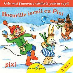 Bucuriile iernii cu Pixi Martin Baltscheit, Kalter Winter, Audio, Tweety, Donald Duck, Pixie, Disney Characters, Fictional Characters, Comics