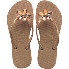 e1e7162e6 Havaianas Slim Luxury ( 80) ❤ liked on Polyvore featuring shoes