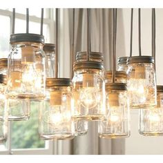 ooooman.  Bare bulbs in mason jars.