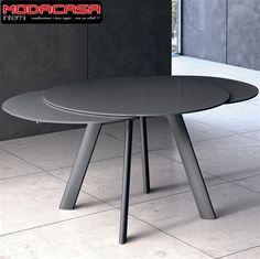 Tavolo rotondo allungabile modello ZAT.87.MCI