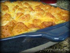 Garlic ranch biscuit topped chicken pot pie