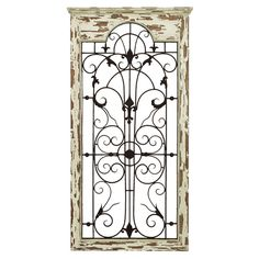 gate indooroutdoor wall decor