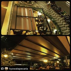 #Repost @kyowatapecaria ・・・ Uma cobertura incrível que protegeu e ampliou a área externa do restaurante Capitães Gastronomia. Agregou ainda mais beleza à fachada :) Essa é a cobertura Folding Pergola em um projeto incrível do arq. Fabricio Novaes @brinovaes Exclusividade Stobag disponível na Kyowa #stobagbrasil #cobertura #gastronomia #santos #kyowa #arquitetura #decor #capitaesgastronomia