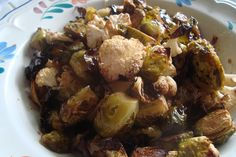 Roasted Brussel Sprouts and Cauliflower. by canarsiebk, via Flickr