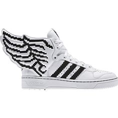 Jeremy Scott x Adidas Originals 2.0 – Fall 2013  #jeremyscott #adidas #original #wings