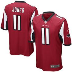 Julio Jones Atlanta Falcons Nike Game Jersey - Red