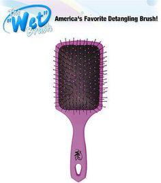 Luxor The Wet BrushPro Select Paddle detangling - shower hair brush (purple)