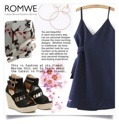 """""""ROMWE 3/XIII"""" by saaraa-21 ❤ liked on Polyvore featuring romwe, shop and polyvorefashion"""
