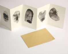 Five terrifying monsters in a tiny little zine! These monsters are prints from original ink illustrations created by me. Up Book, Book Art, Ink Illustrations, Illustration Art, Concertina Book, Wow Photo, Buch Design, Art Zine, Graphic Design Print
