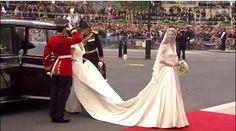 Loved Kate's wedding dress!!