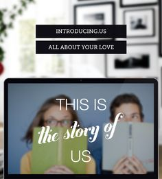 I wanted to announce my engagement to friends in family in a totally new and unique way, so I made this amazing custom website. It has a cool visual timeline of my relationship, and announces the big news while also telling everyone about our journey as a couple. It's completely free & easy to use!