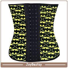 Fajas Reductoras Colombianas Batman impreso cintura formación corsés para la venta