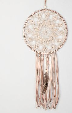 Large Beige Doily Dream Catcher, Crochet Doily Dreamcatcher, boho style, wedding decorations, wall hanging, wall decor, handmade dreamcatcher, lace dreamcatchers, stylish design. SIZES: Beige Dream Catcher - diameter of the hoop:-10 12 ( 25 - 30 cm ) - height : 26 - 30 ( 65 - 75
