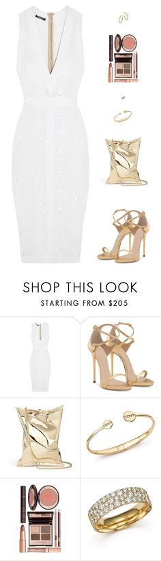 """Sin título #4586"" by mdmsb on Polyvore featuring moda, Balmain, Anya Hindmarch, Ippolita y Charlotte Tilbury"