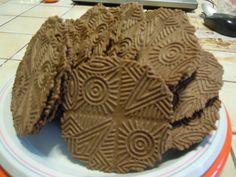 Bricelets au Chocolat (Monique la poissonnière)