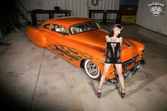 Orange dream with hot pin up.
