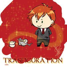 Gryffindor  -Trasfiguration by nallasxh.deviantart.com on @DeviantArt