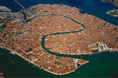 Venice, from above