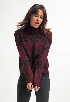 New Look Jumper - aubergine for £23.00 (17/12/15) with free delivery at Zalando