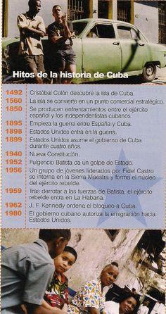 Hitos de la historia de Cuba