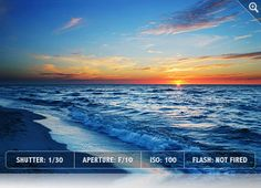 Seascape Photography Tips    http://www.exposureguide.com/photographing-seascapes.htm