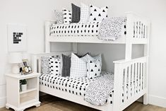 Styled for Bunk Beds – Beddy's Make Your Bed, How To Make Bed, Euro Pillow Covers, Pillow Cases, Girls Bedroom, Bedroom Decor, Bedroom Ideas, Beddys Bedding, Zipper Bedding