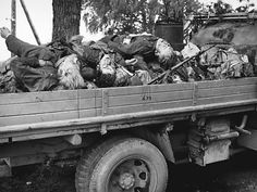 The remains of Finnish soldiers killed in action in Uusikirkko, Kaukjärvi, and Summa during the Finnish-Soviet Continuation War are taken home after the Finnish withdrawal from the Karelian isthmus following the massive Soviet offensive against the Finns. Vyborgsky District, Leningrad Oblast, Russia, Soviet Union. June 1944.