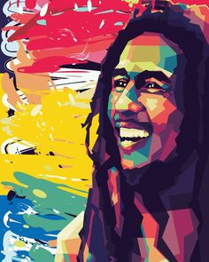 Fiverr freelancer will provide Portraits & Caricatures services and create the finest wpap pop art portrait including Figures within 1 day Pop Art Posters, Poster Prints, Art Prints, Cool Art Drawings, Drawing Ideas, Bob Marley Art, Bob Marley Pictures, Pop Art Portraits, Record Art