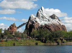 Expedition Everest - Legend of the Forbidden Mountain is a roller coaster attraction at Disney's Animal Kingdom theme park at the Walt Disney World Resort in Lake Buena Vista, Florida, near Orlando. Although moderate in height and length by contemporary roller coaster standards, Expedition Everest is unique for having its trains travel forward and backward as a result of the yeti's interference with the journey.