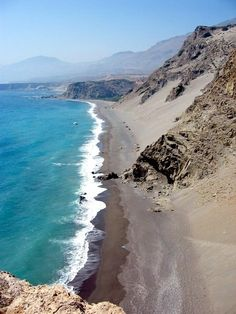 Agios Pavlos beach, near Triopetra Crete Island Greece, Greece Islands, Beautiful Islands, Beautiful Places, Places To Travel, Places To See, Places Around The World, Around The Worlds, Creta