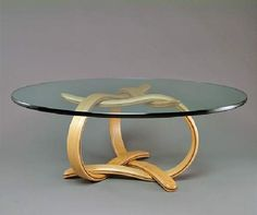 Sculpture Under Glass: Original Coffee Tables by Larry and Nancy Buechley