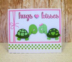 Ann Greenspan's Crafts: Frantic Stamper Baby Turtles