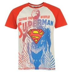 Mens Superhero T-Shirt £9.99 #superman #menstshirts http://www.sportsdirect.com/superhero-t-shirt-mens-590157?colcode=59015708