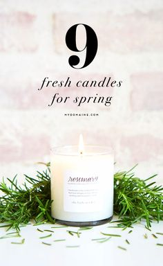 Have your home smelling like spring in NO TIME! Lauren Conrad's candles are divine.