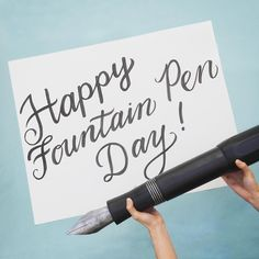 Celebrating a great stationery holiday-- happy fountain pen day everyone! What's your favorite fountain pen and ink combo? . #instajetpens #kawecosport #fountainpenday #fountainpenday2016 #fountainpen #giantkawecosport @fountainpenday