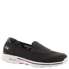 Skechers Performance Women's Go Walk 3 Slip-On Walking Shoe,Black/White,5 M US - http://all-shoes-online.com/skechers-3/5-b-m-us-skechers-performance-womens-go-walk-3-slip-5