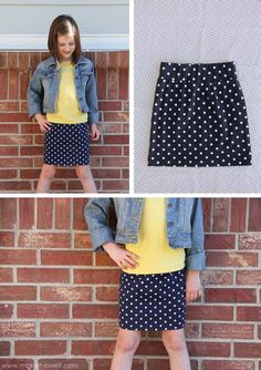 Image result for knit waistband skirt tutorial
