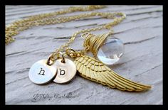 Personalized+Necklace+Monogram+Necklace+by+Daisymetalcreations,+$41.00