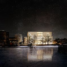 Gallery of David Chipperfield Reveals New Renderings for Nobel Center in Stockholm - 14
