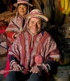 """Faces of Tradition - Thrums Books. Re-pinned by Elizabeth VanBuskirk on """"Inca Weavings and Weavers."""""""