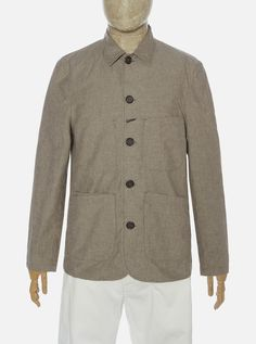 Jackets – Universal Works Universal Works, Work Jackets, Iron Decor, Designer Clothes For Men, Shirt Dress, Fabric, 30 Degrees, Sleeves, Sweaters
