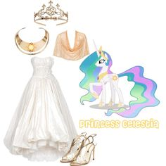 Princess Luna By Grace Buerklin On Polyvore Featuring Naughty Monkey Nina Ricci Jewel