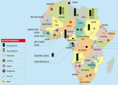 Mapping History Activity  Africa S Natural Resources Answers