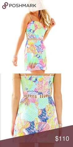 Lily Pulitzer romper dress Brand new with tags. Offers considered. Lilly Pulitzer Dresses Mini