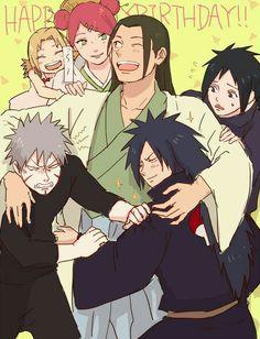 Naruto// Madara,Izuna Uchiha, Mito, Tsunade,Hashirama and Tobirama Senju Madara Uchiha, Naruto Uzumaki, Anime Naruto, Comic Naruto, Naruto Cute, Otaku Anime, Manga Anime, Sasunaru, Naruhina