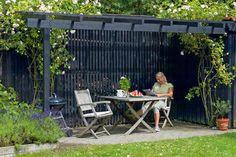 Terrasse: Ly, læ og lys på terrassen | Gør Det Selv